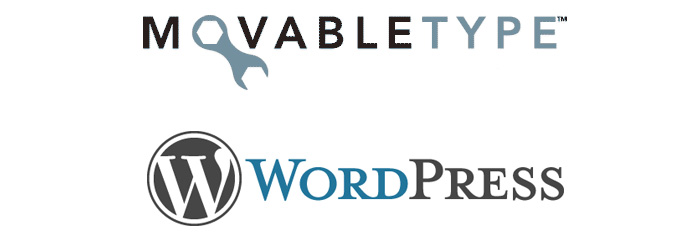 Movabletype と Wordpress