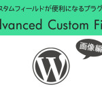 Advanced Custom Fieldの使い方画像編